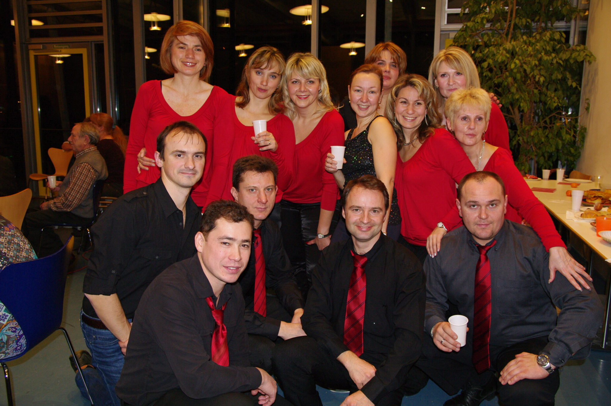 Jahr 2010. Tanzclub bravO