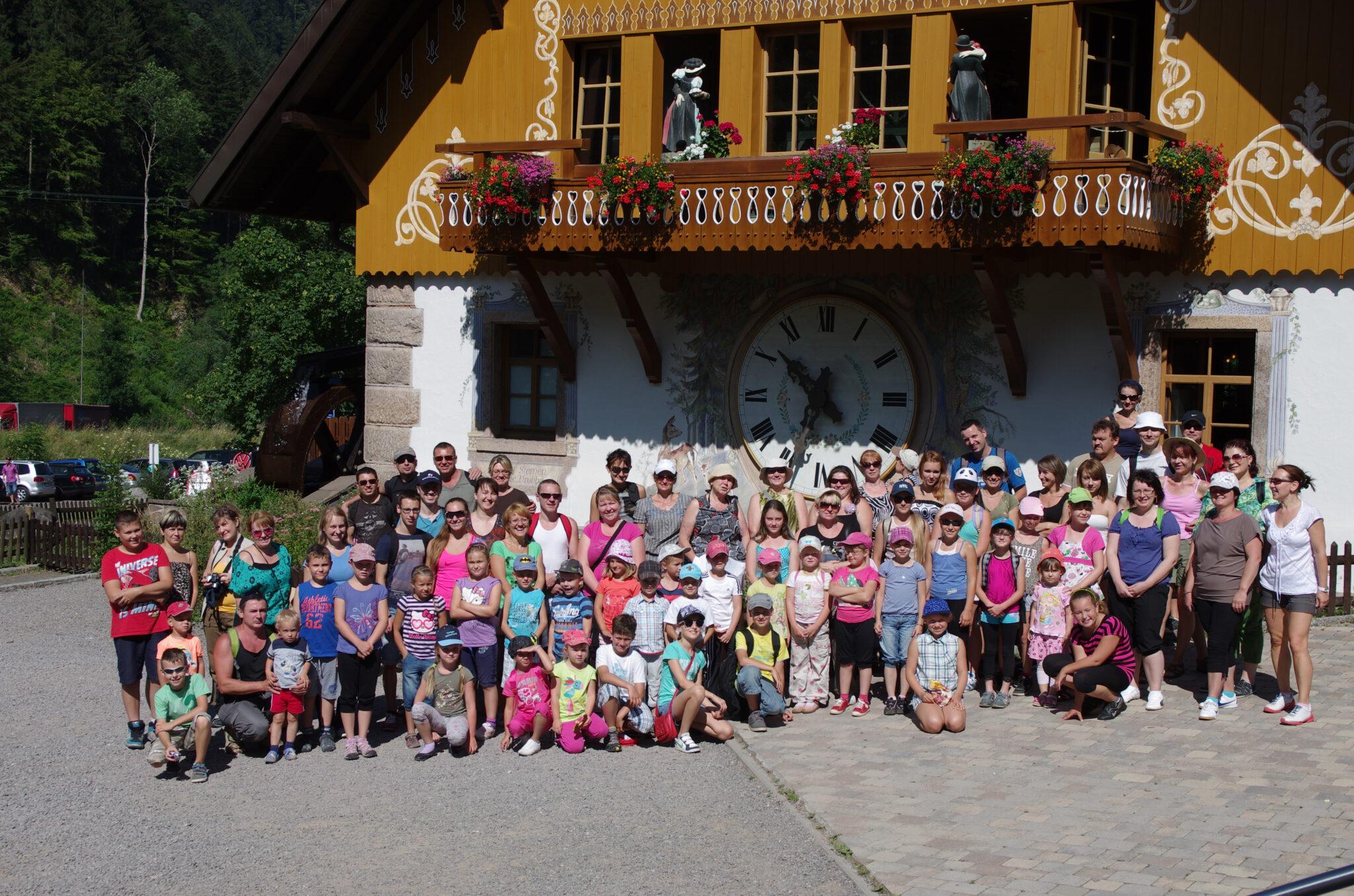 Jahr 2013. Kindertanzclub bravO. Ausflug nach Ravennaschlucht.