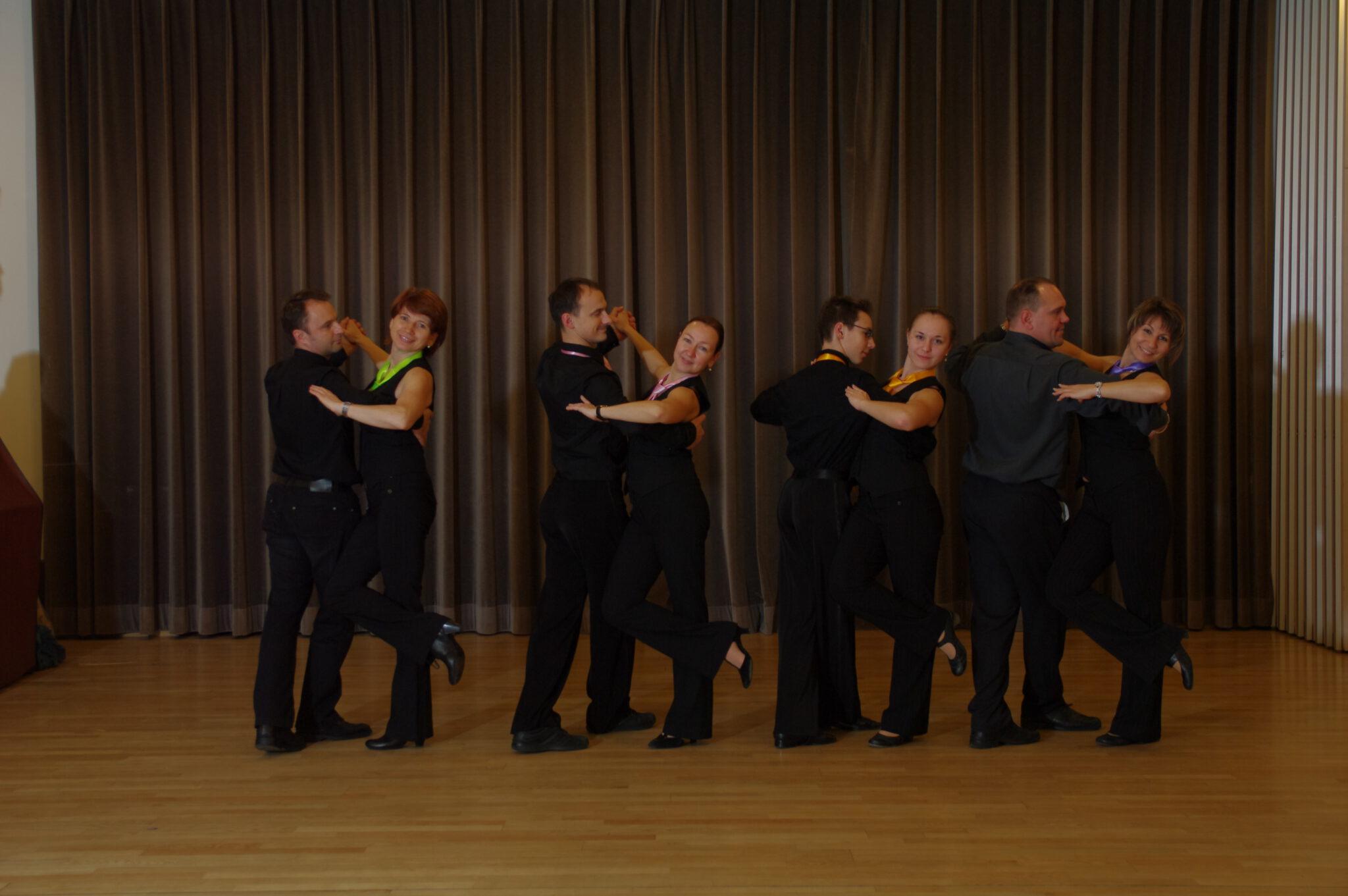 Jahr 2012. Tanzclub bravO. Erwachsene.