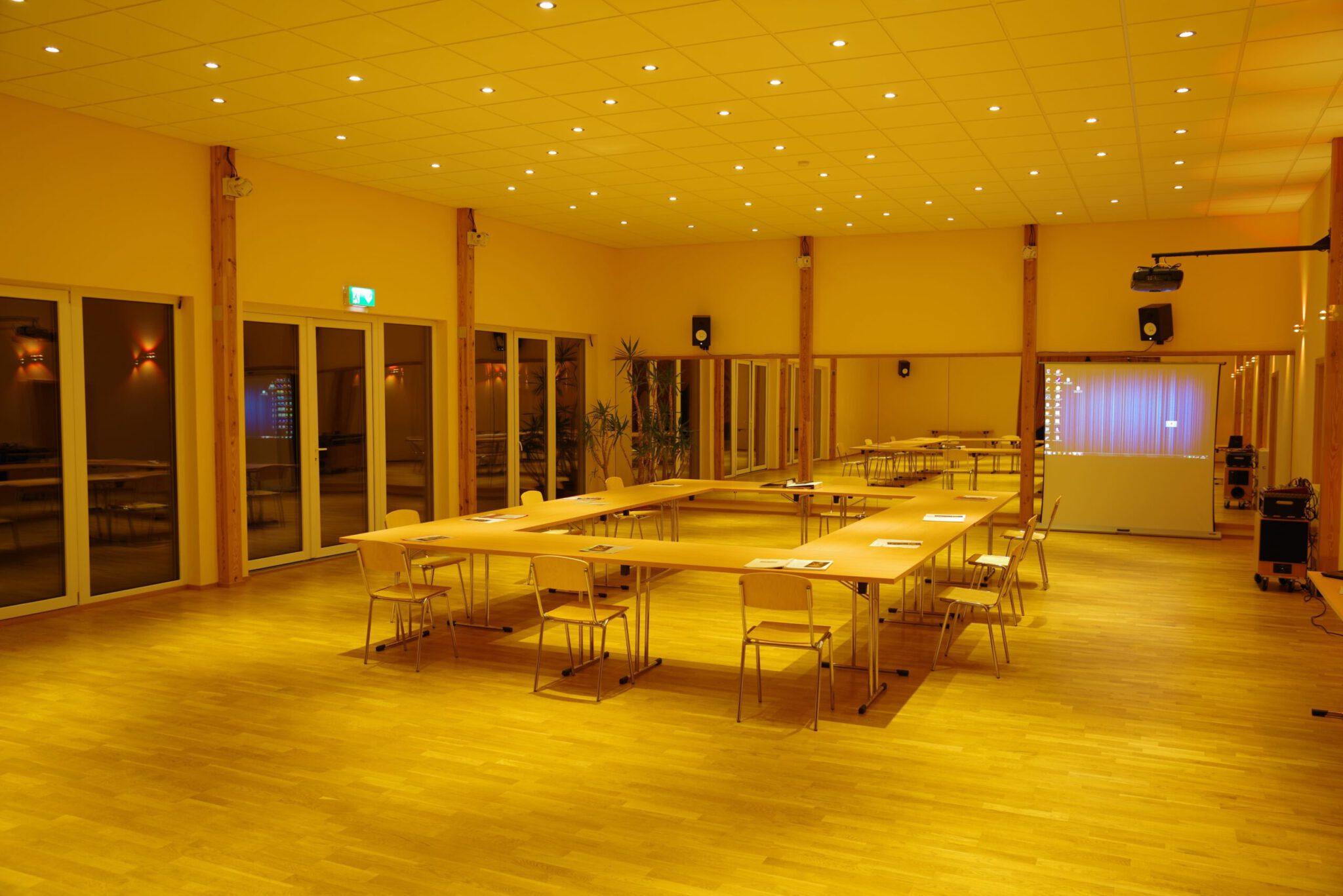 Saal für seminar